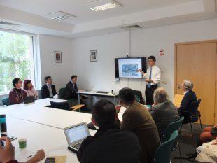 Prof Akio Takahara in Cambridge