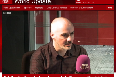 carl randall BBC world service