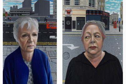 London Portraits, Jo Brand and Julie Walters